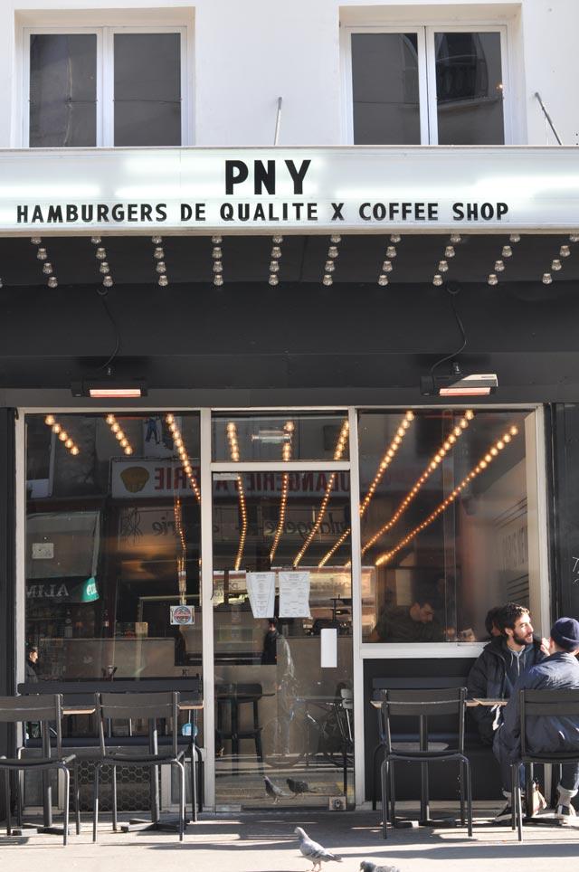 Paris New York Hamburgers - devanture