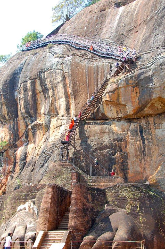Sri Lanka - pattes de lion Sigiriya