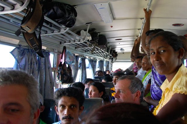 Prendre le bus au Sri Lanka