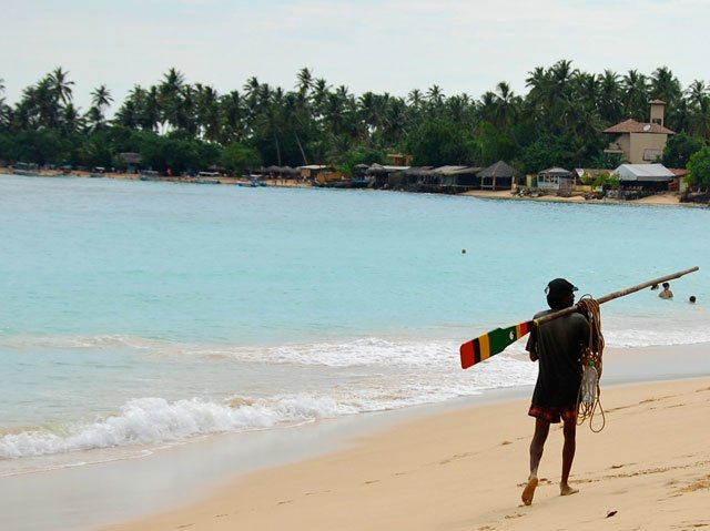 Sri lanka - plage de Mirissa