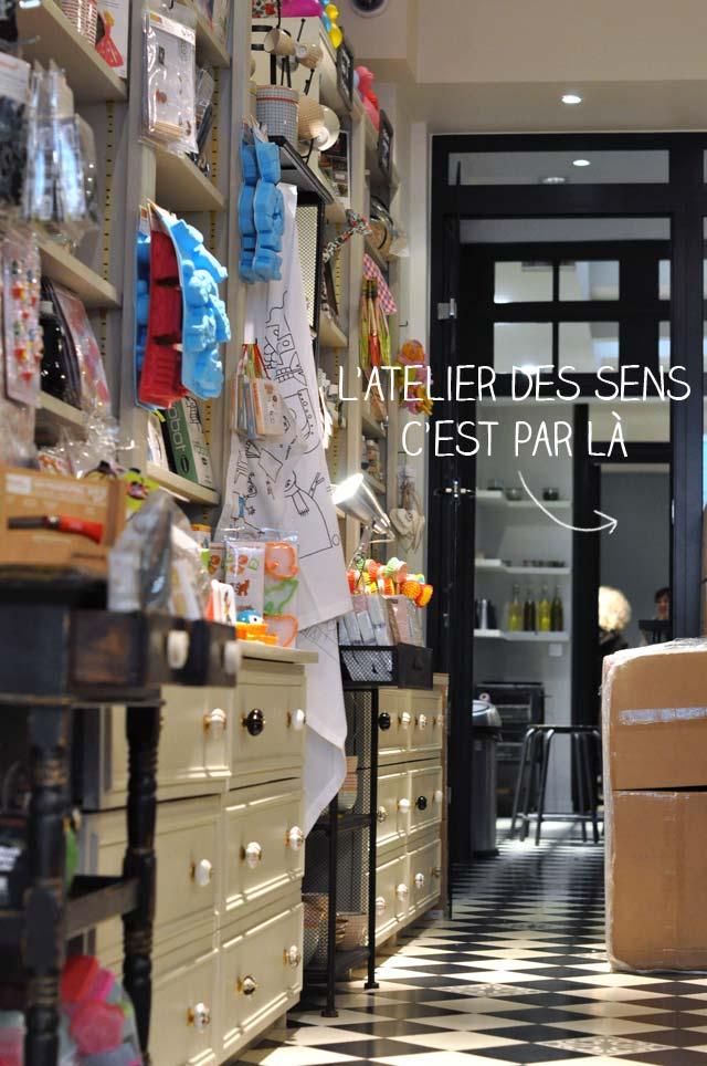 L'Effet Maison, boutique à Paris et l'Atelier des Sens