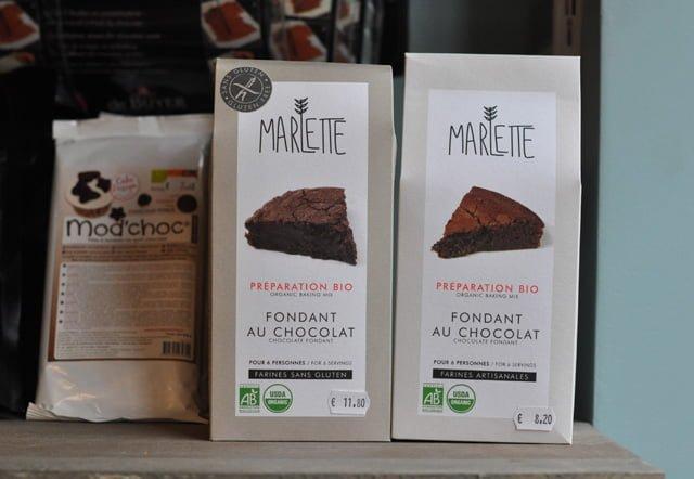 Préparation fondant au chocolat sans gluten Marlette : boutique l'Effet Maison à Paris
