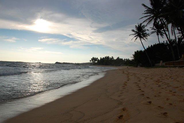 Vers Unawatuna au Sri Lanka