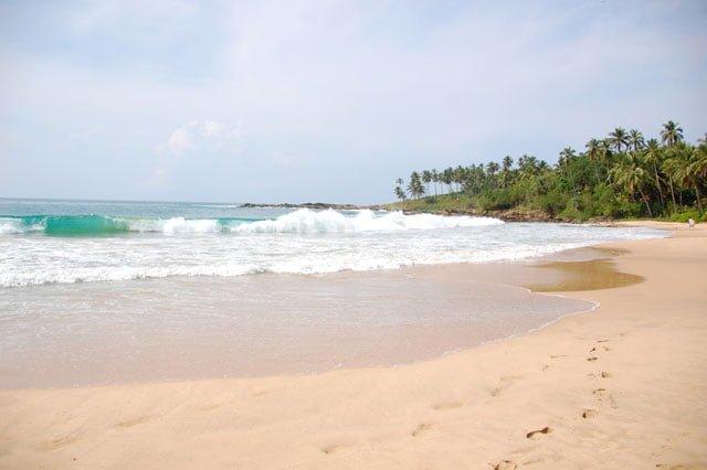 Sri Lanka : plage des Palm Paradise Cabanas à Tangalle