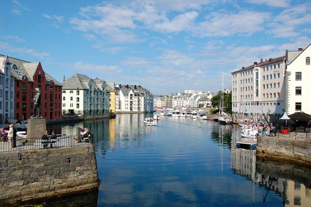 Norvège : Ålesund
