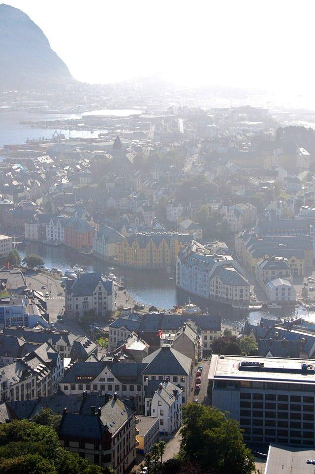 Norvège : vue sur Ålesund