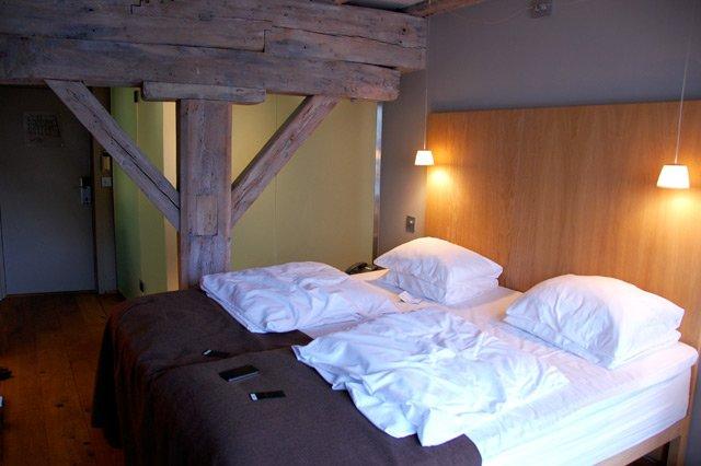 Norvège, hôtel Brosundet à Ålesund