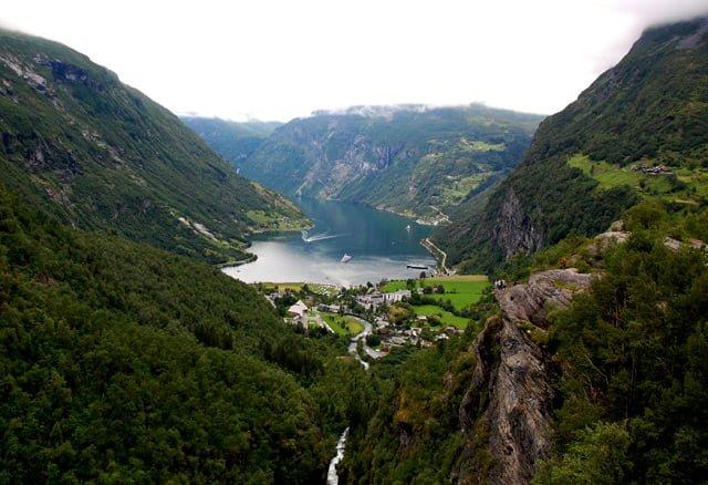 Norvège, vue sur le Geirangerfjord