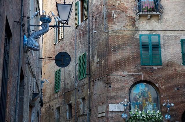 Blason d'une contrade de Sienne en Toscane