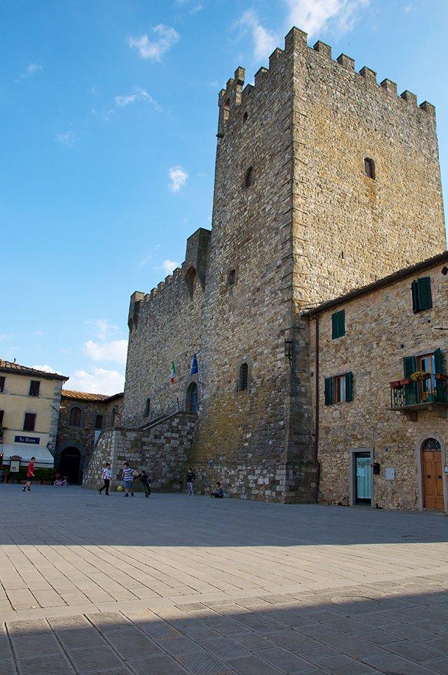 Village du Chianti en Toscane