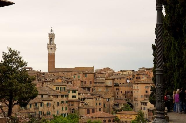 Sienne en Toscane