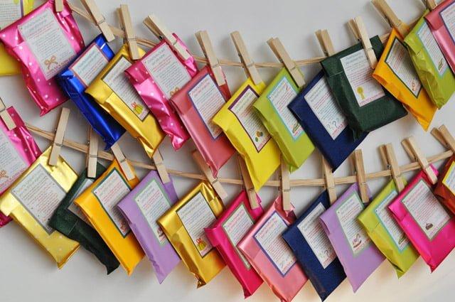 Les pochettes cadeau de la boutique Home à Saint Germain en Laye