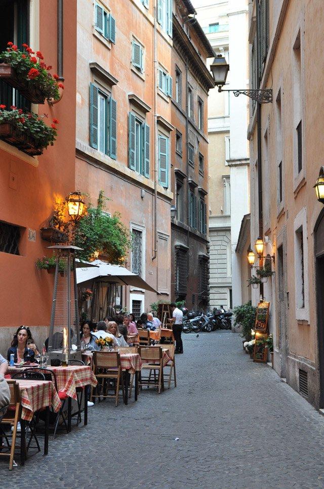Dans les ruelles de Rome