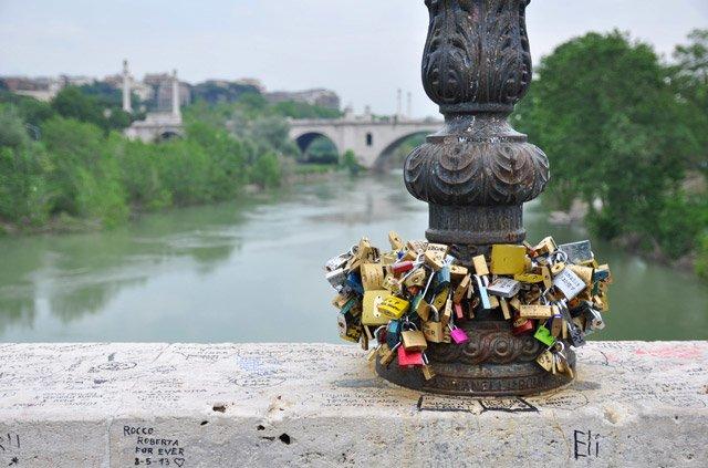 Ponte Milvio à Rome