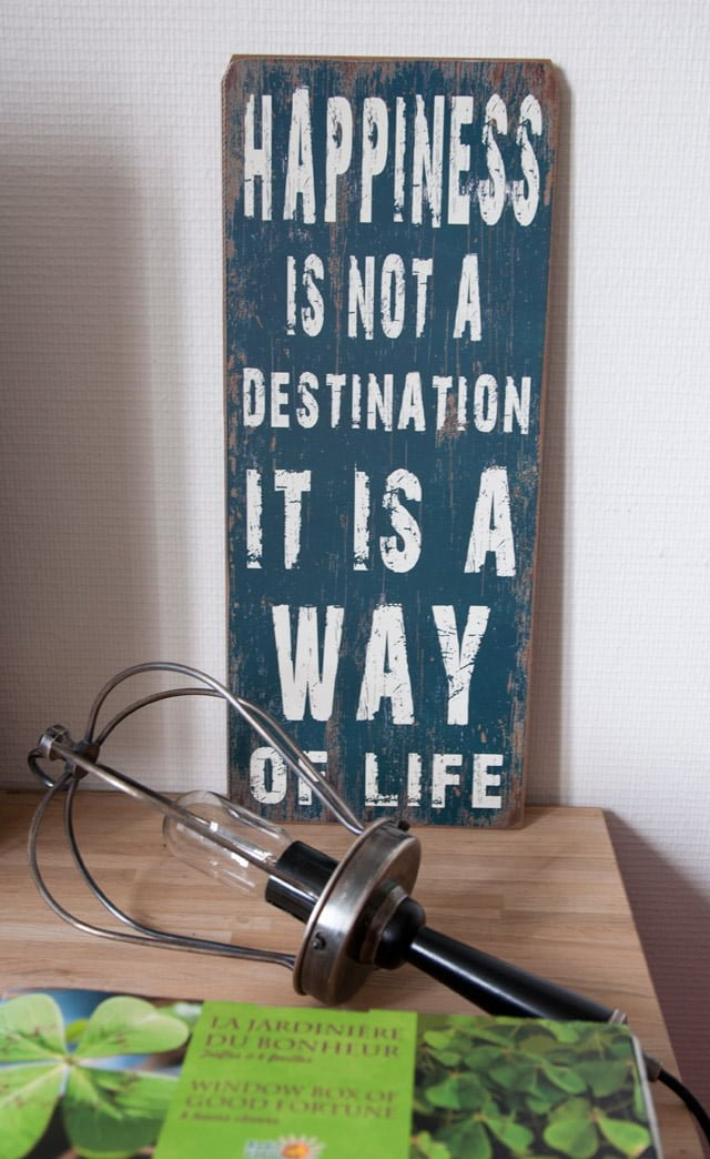 Bureau : Happiness is not a destination it is a way of life