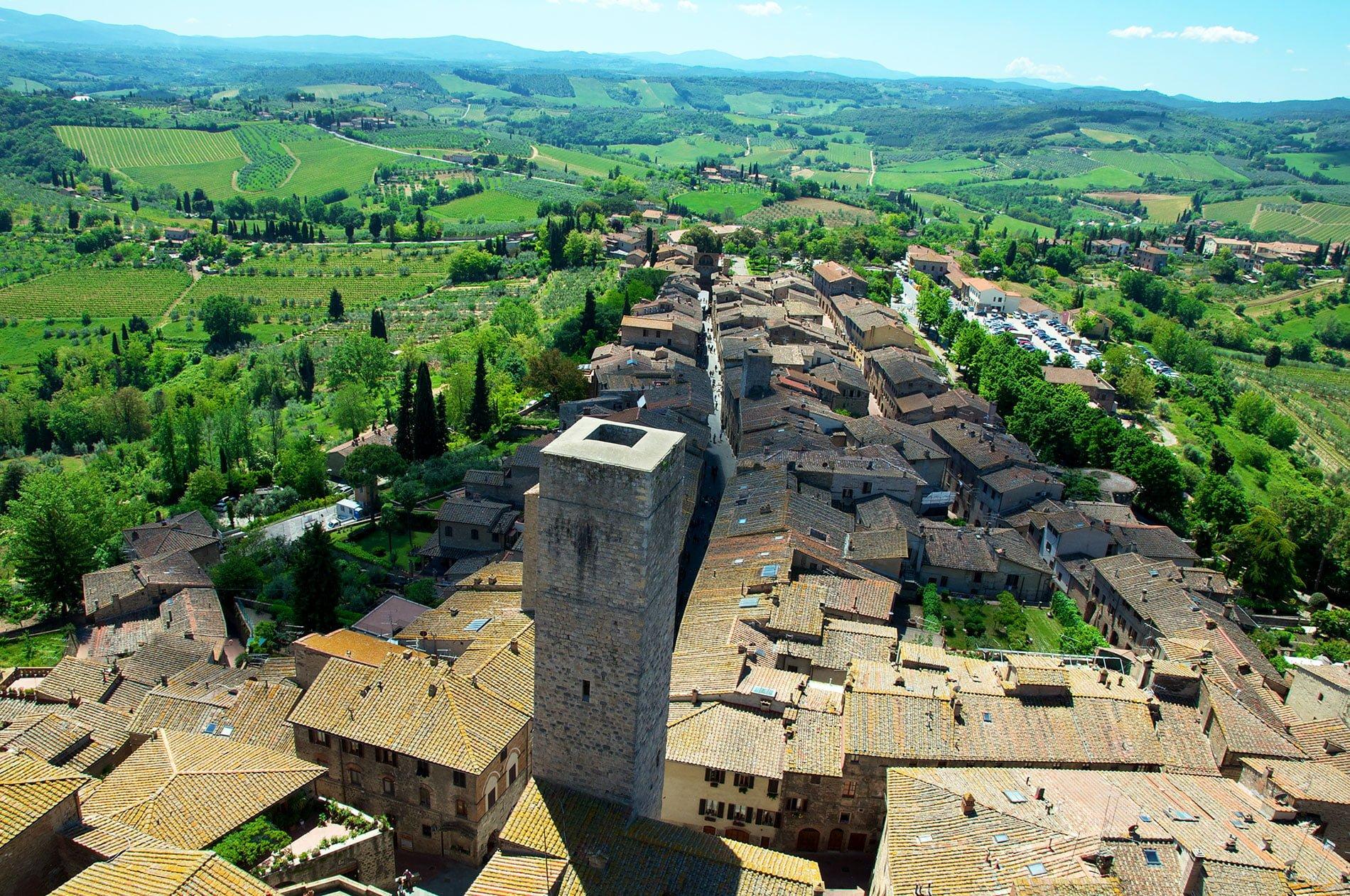 Italie : Sienne, San Gimignano et la région du Chianti // clichés