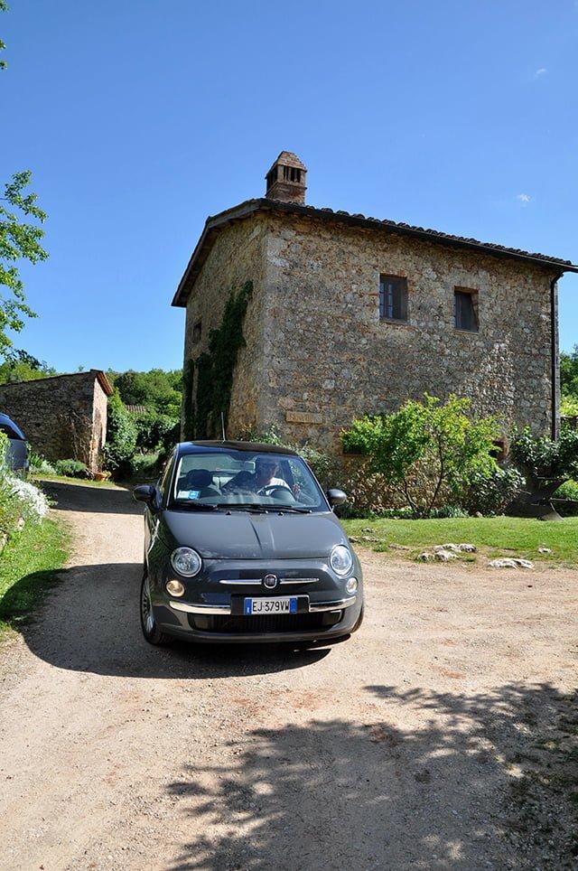 Agriturismo Novelleto dans la vallée du Chianti en Toscane