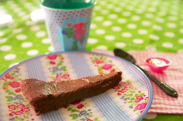 Gâteau au chocolat à la farine de sarrasin sans gluten