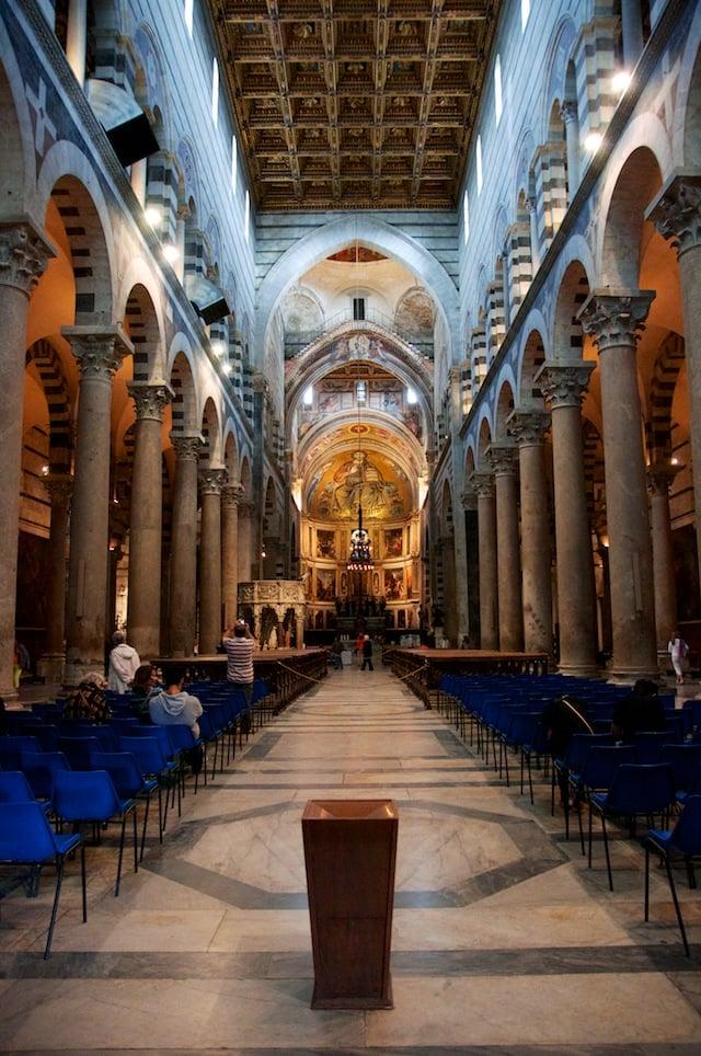Cathédrale de Pise en Italie