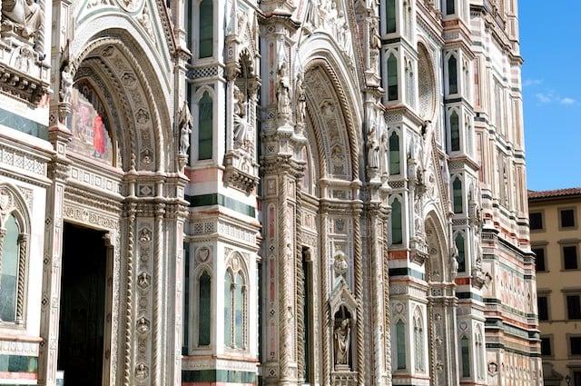 La cathédrale (ou Duomo) de Florence (Firenze) en Toscane en Italie