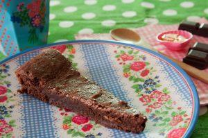 Gâteau au chocolat à la farine de sarrasin sans gluten - 22 v'la Scarlett