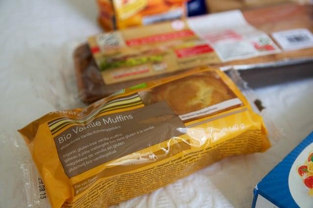 Muffins sans gluten à la vanille
