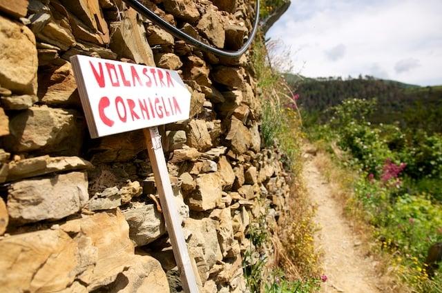 Sentier de randonnée Manarola les Cinque Terre en Ligurie