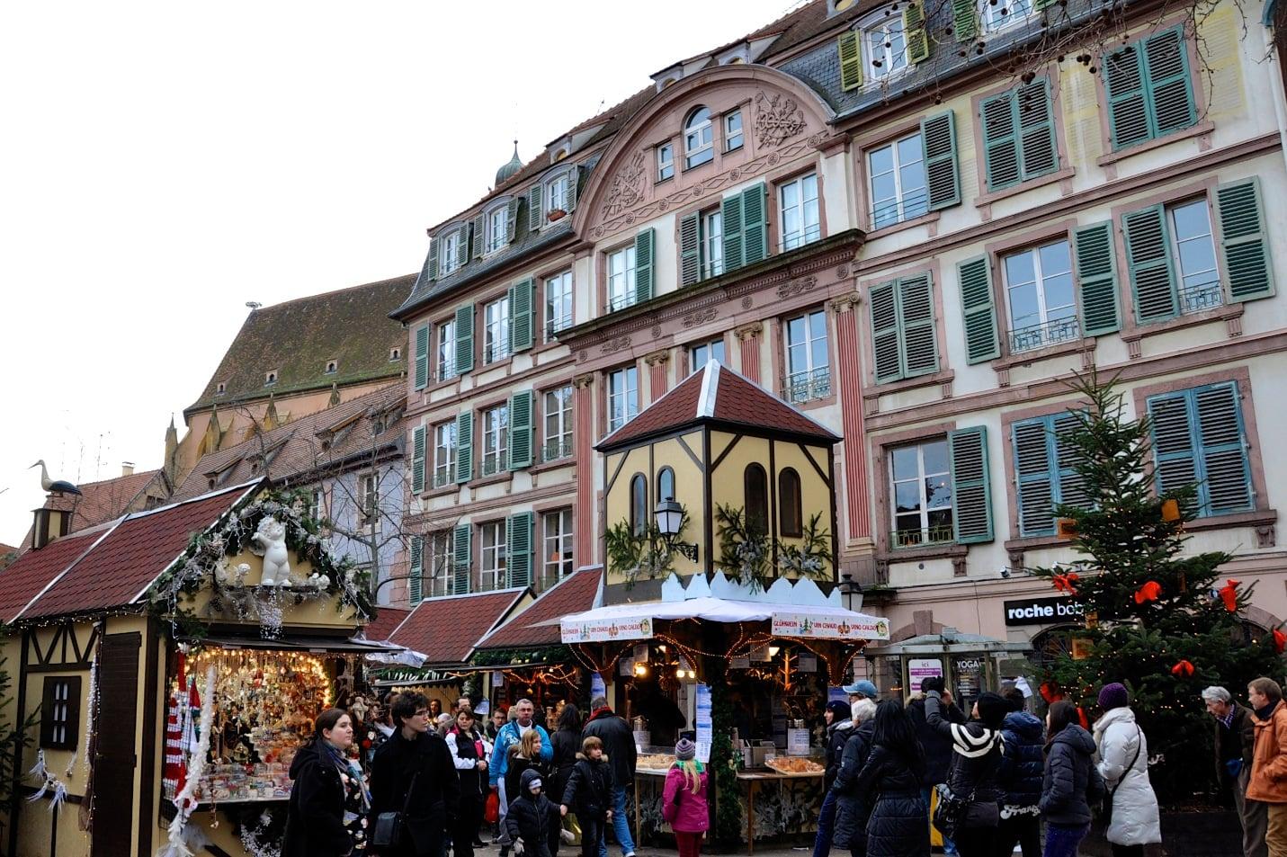 Marché de Noël à Colmar en Alsace