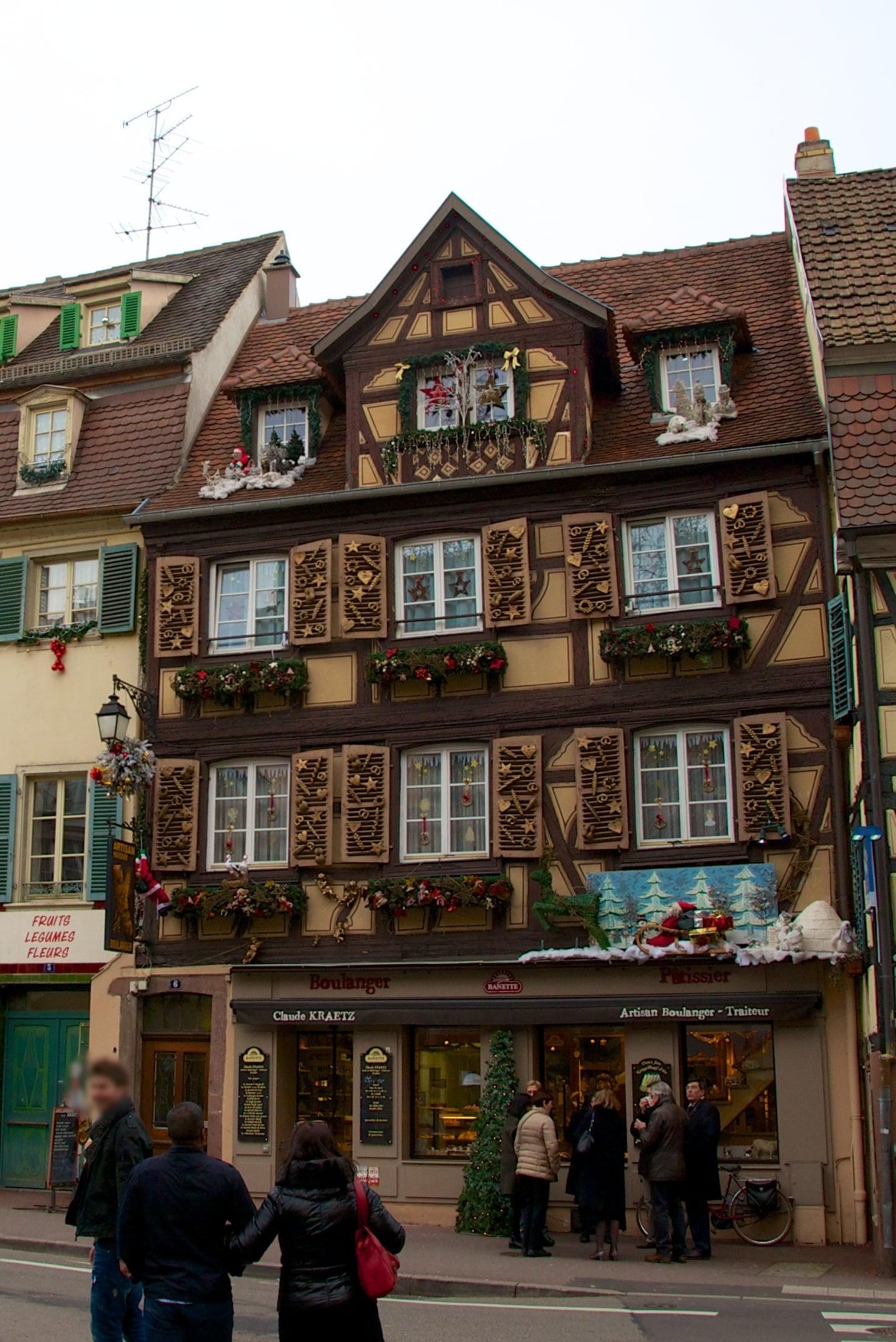 Noël à Colmar en Alsace