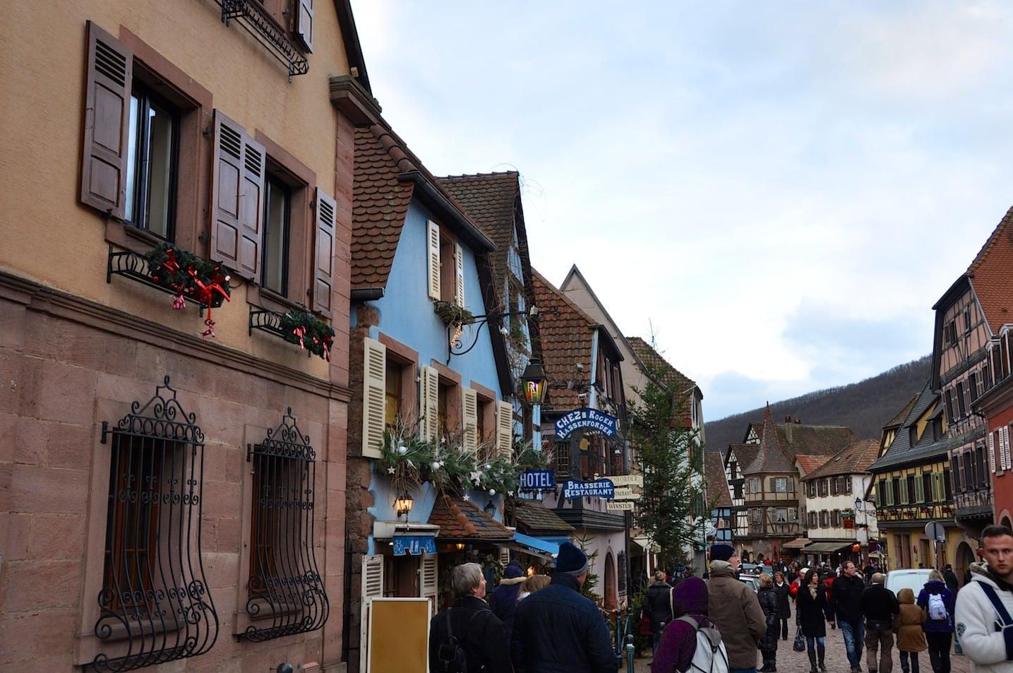 Noël à Kaysersberg en Alsace