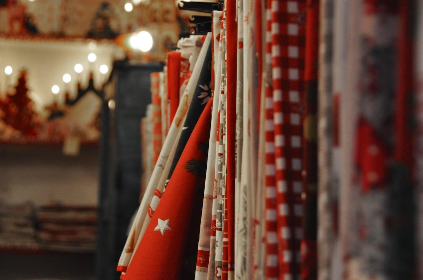 Boutique de Noël à Kaysersberg en Alsace