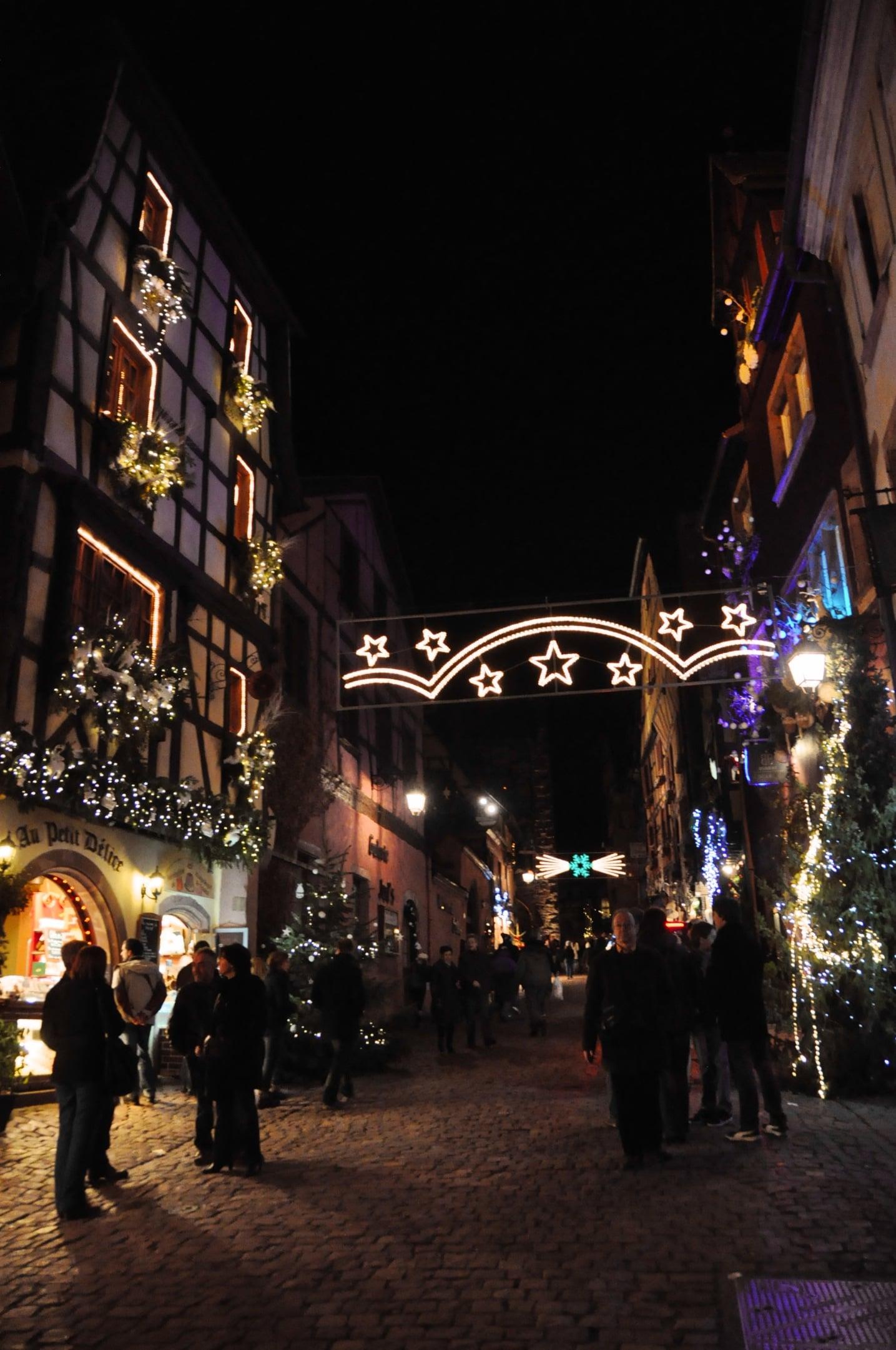 Noël à Riquewihr en Alsace