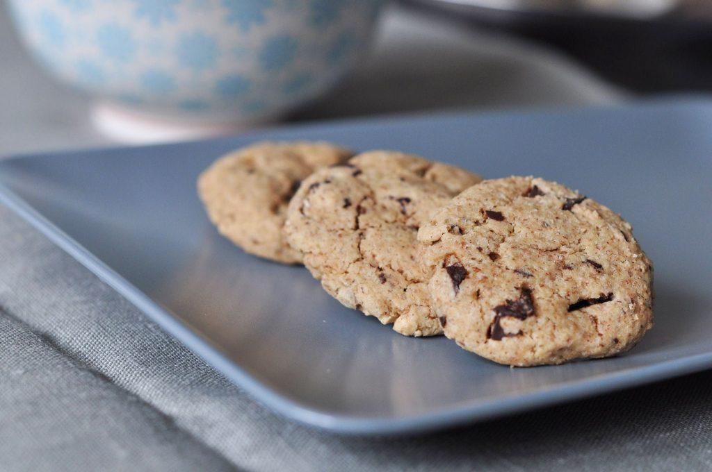 Cookies au chocolat sans gluten et sans lait - 22 v'la Scarlett