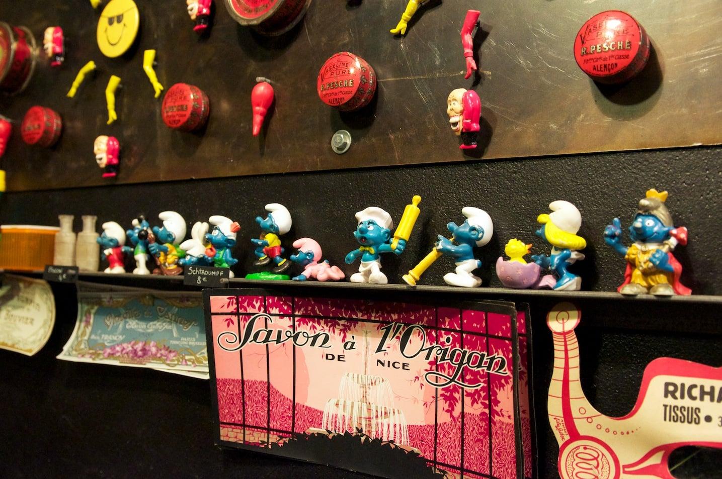 Tombées du camion, boutique insolite à Paris