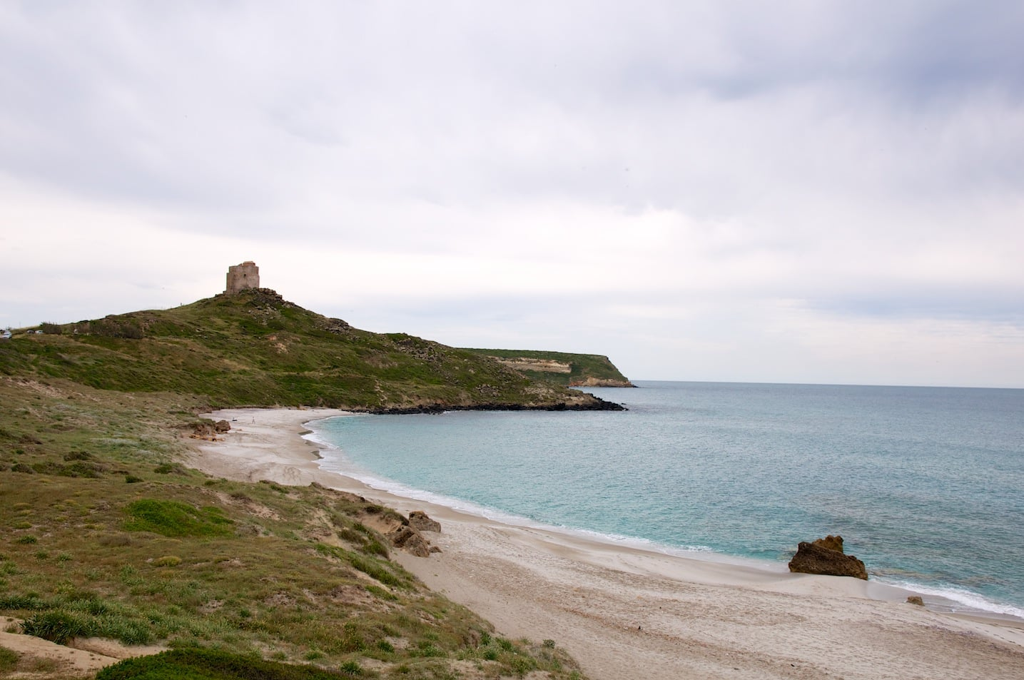 Site archeologique Tharros en Sardaigne
