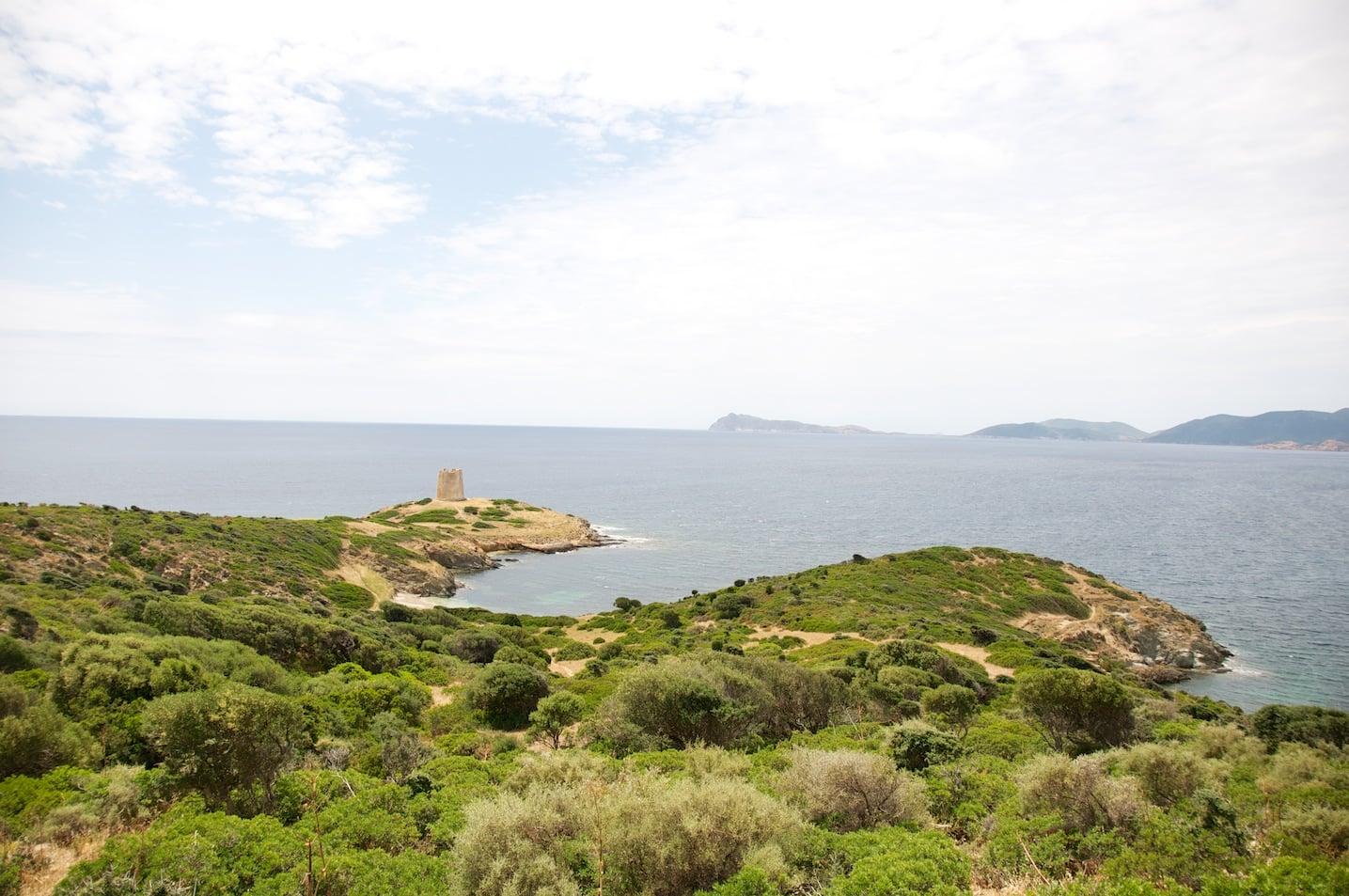 De Piscinas à Teulada en Sardaigne