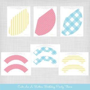 Blog By Lisa Krueger : printable chapeaux et wrappers pour cupcakes