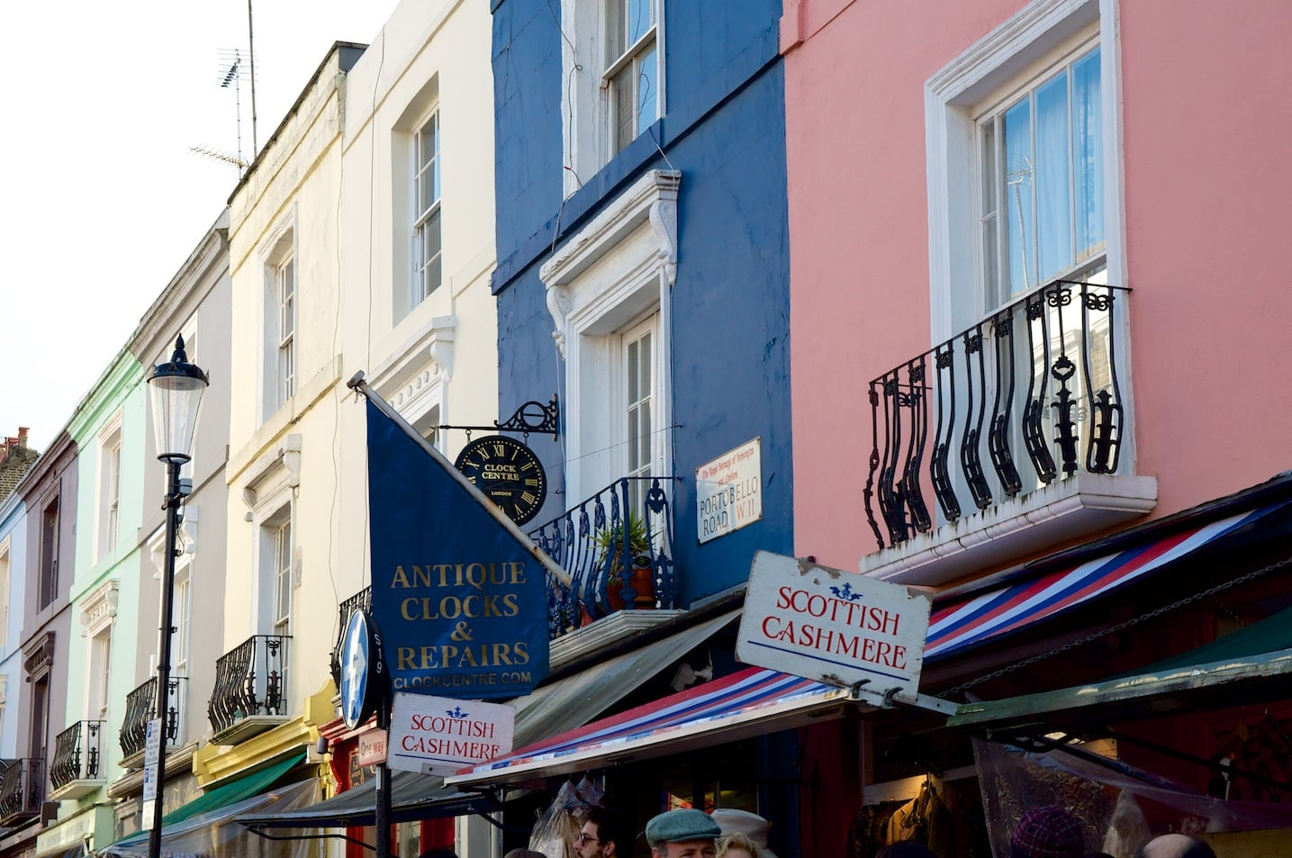 Portobello Market à Londres