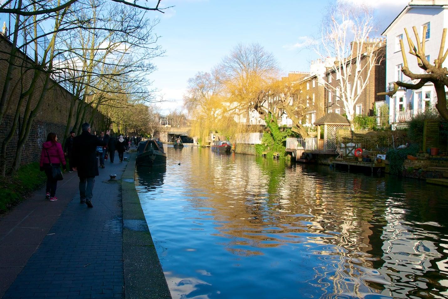 Regent's canal à Londres