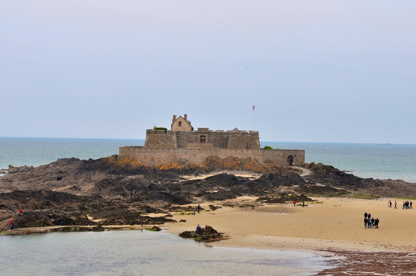 Ville fortifiée Saint-Malo en Bretagne
