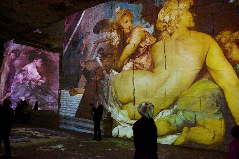 expo Klimt et Vienne, Baux de Provence