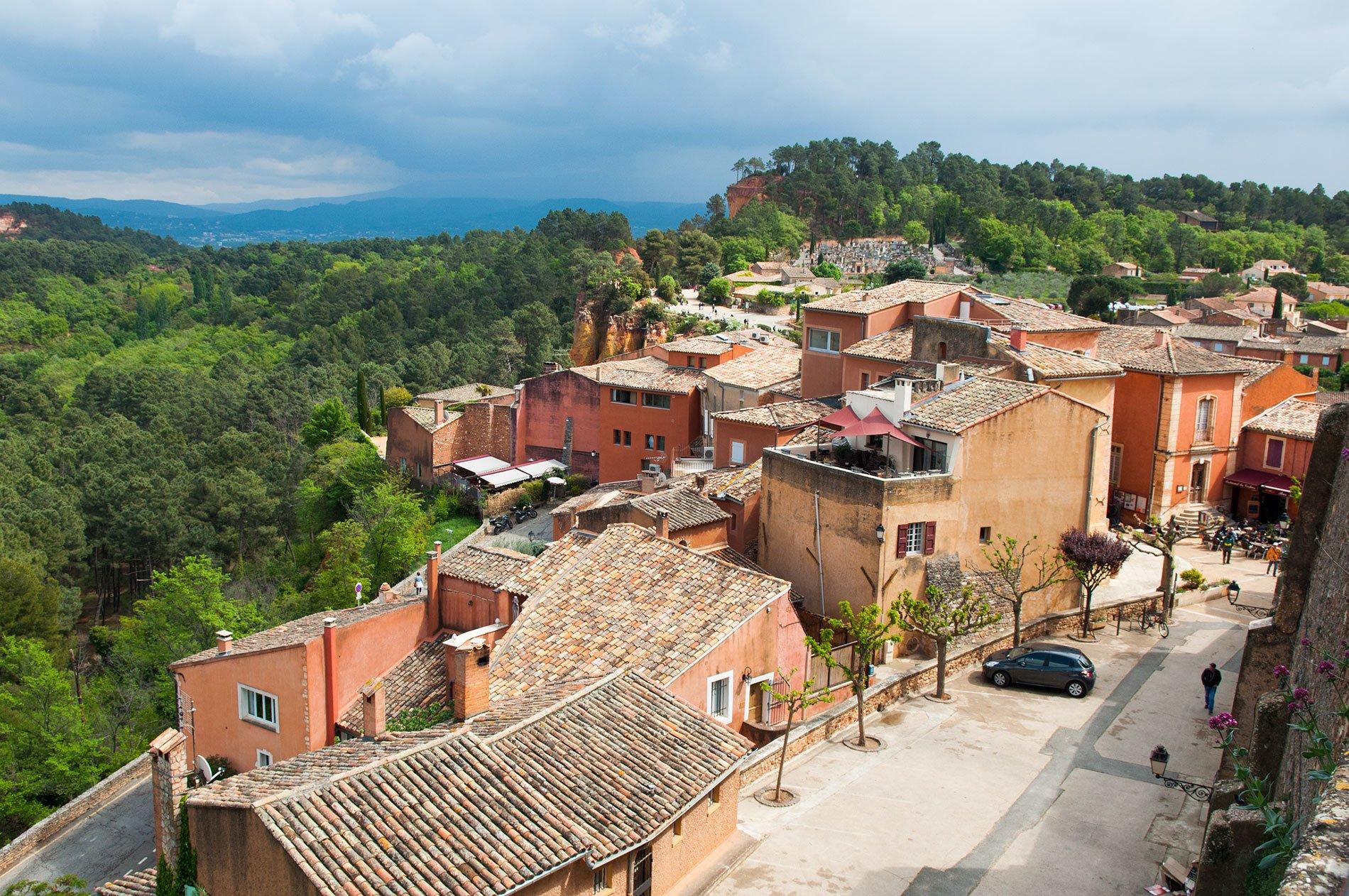 Roussillon en Provence - 22 v'la Scarlett