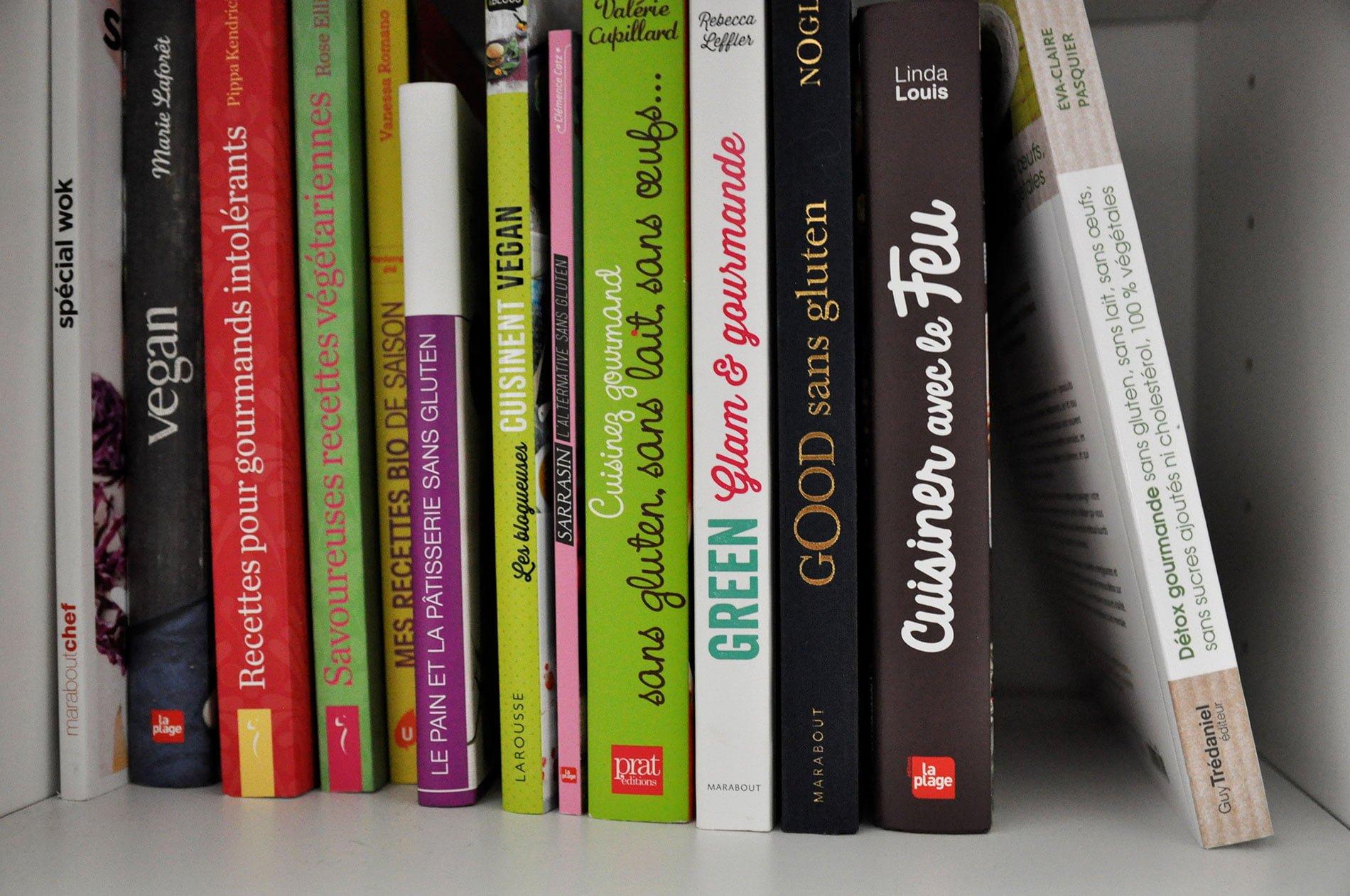 5 livres de recettes saines et/ou sans gluten inspirants