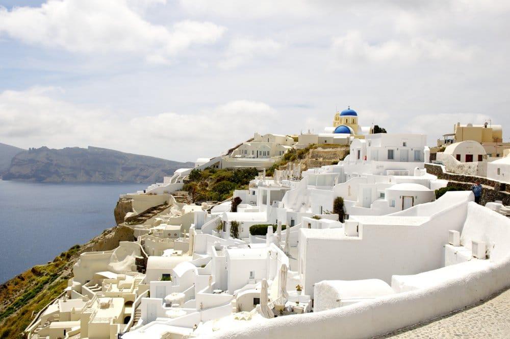 Santorin dans les Cyclades : bilan mitigé