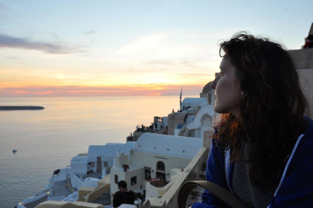 Oia à Santorin