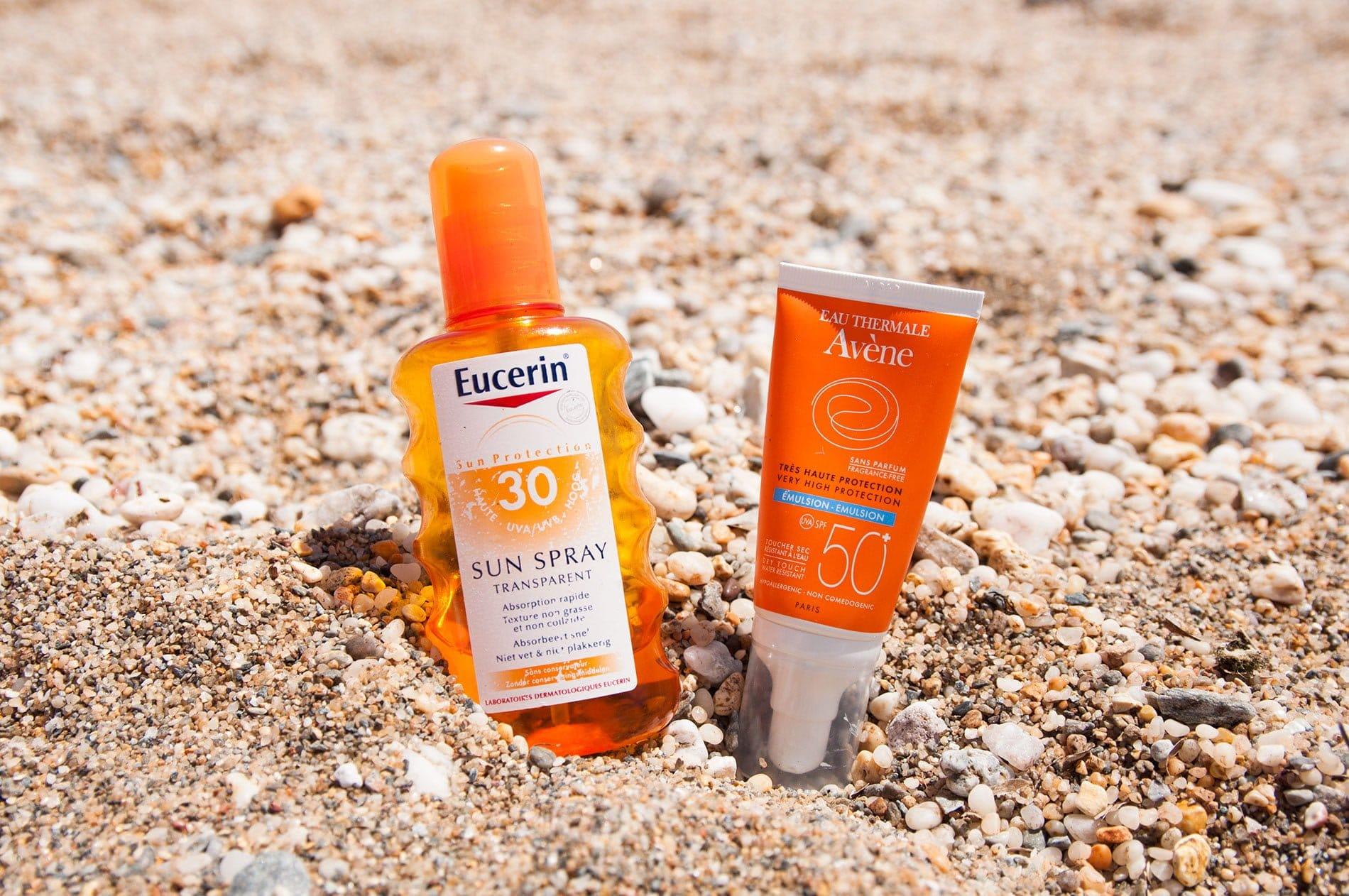 Le Graal : enfin une crème solaire non collante !