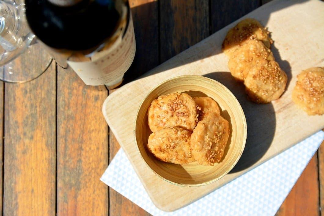 Biscuits au fromage sans gluten et sans lait de vache