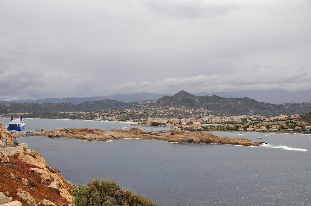 L'Ile Rousse en Corse