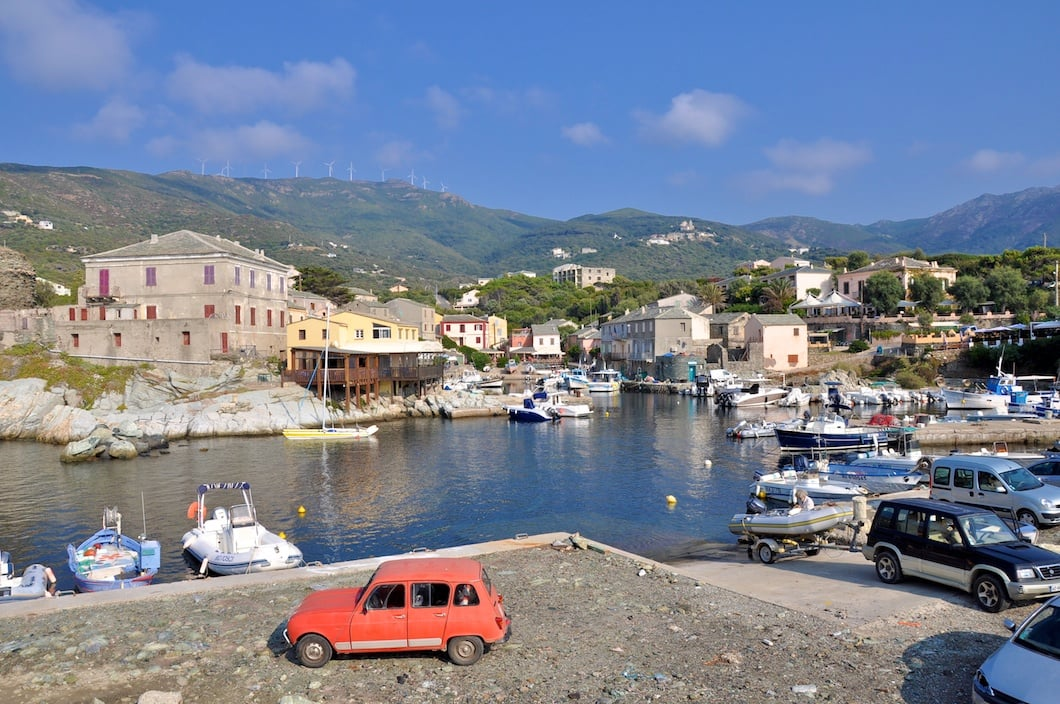 Petit port de Centuri Cap Corse