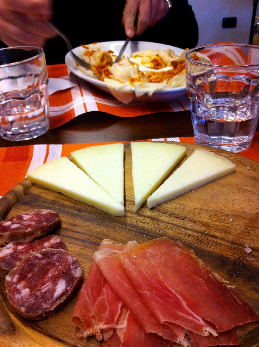 Charcuterie italienne à Orgosolo